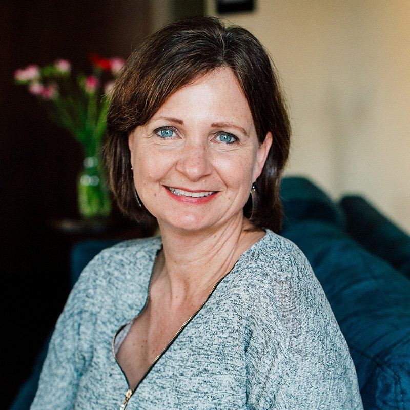 Headshot photo of Patti Rowlson, founder and marketing director