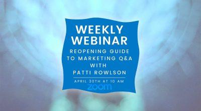 Video: Patti Rowlson answers COVID-19 marketing questions